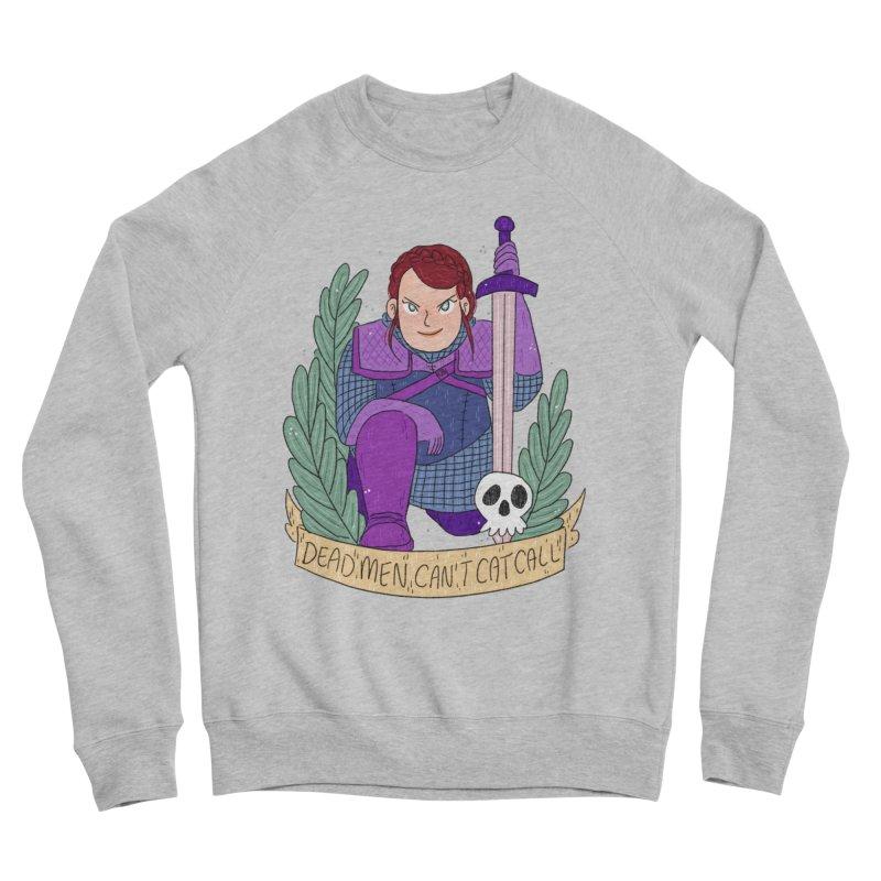 GRL PWR Knights Dead Men Women's Sponge Fleece Sweatshirt by ArtbyMoga Apparel Shop