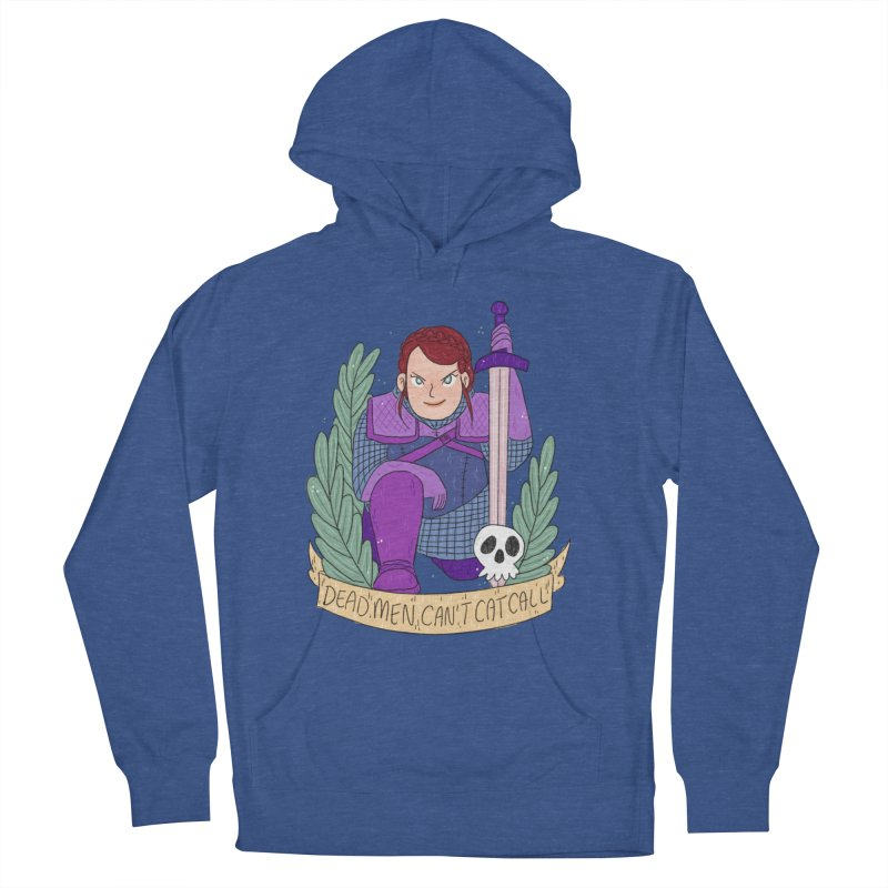 GRL PWR Knights Dead Men Women's French Terry Pullover Hoody by ArtbyMoga Apparel Shop
