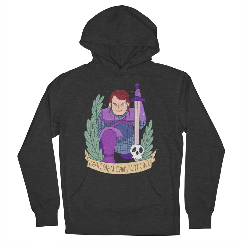 GRL PWR Knights Dead Men Men's French Terry Pullover Hoody by ArtbyMoga Apparel Shop