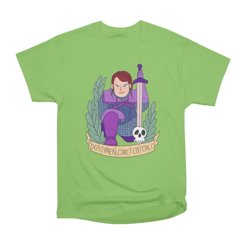 GRL PWR Knights Dead Men Women's Heavyweight Unisex T-Shirt by ArtbyMoga Apparel Shop