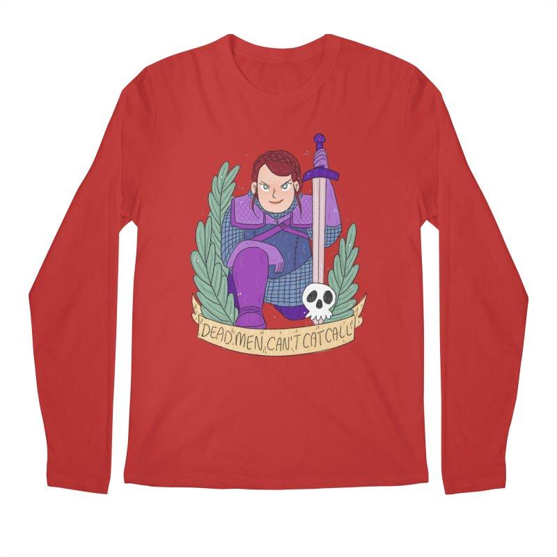 GRL PWR Knights Dead Men Men's Regular Longsleeve T-Shirt by ArtbyMoga Apparel Shop