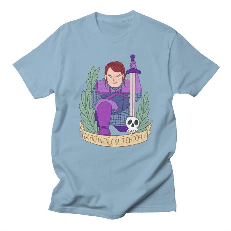 GRL PWR Knights Dead Men Women's Regular Unisex T-Shirt by ArtbyMoga Apparel Shop
