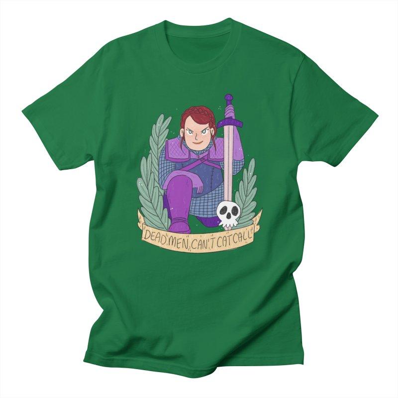 GRL PWR Knights Dead Men Men's Regular T-Shirt by ArtbyMoga Apparel Shop