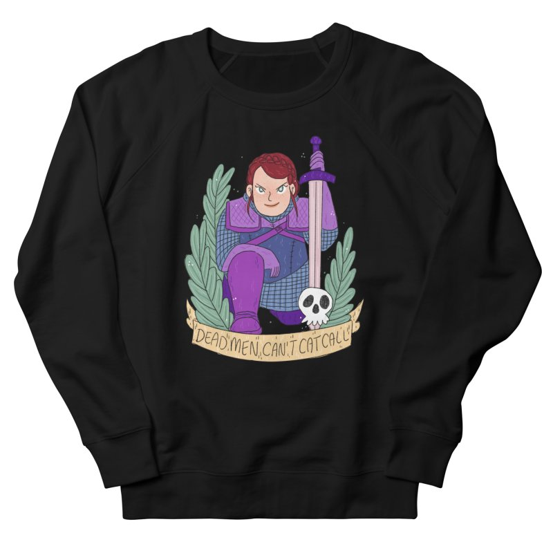 GRL PWR Knights Dead Men Women's French Terry Sweatshirt by ArtbyMoga Apparel Shop