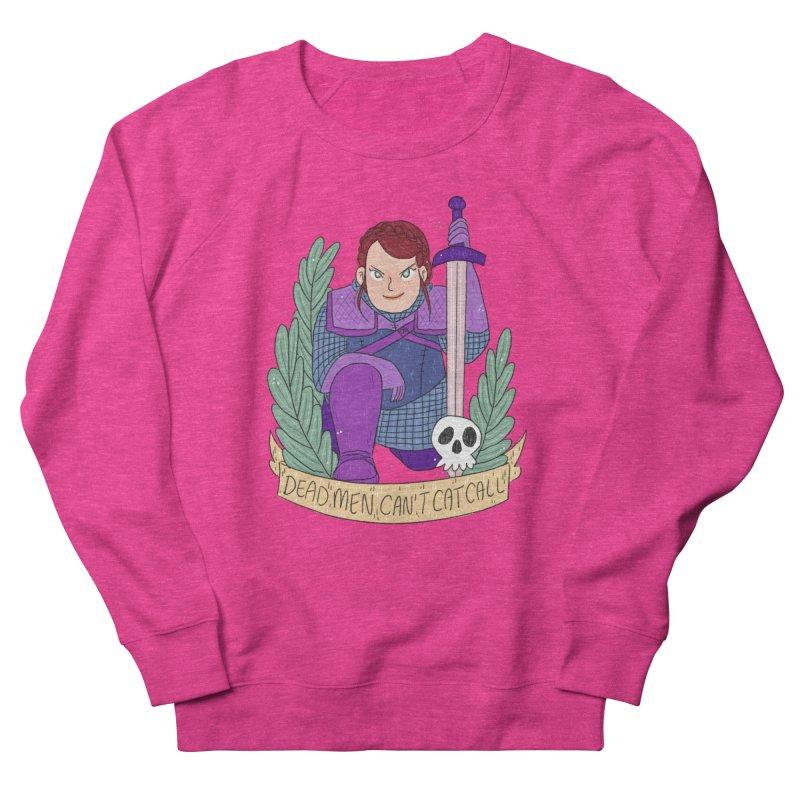 GRL PWR Knights Dead Men Men's French Terry Sweatshirt by ArtbyMoga Apparel Shop