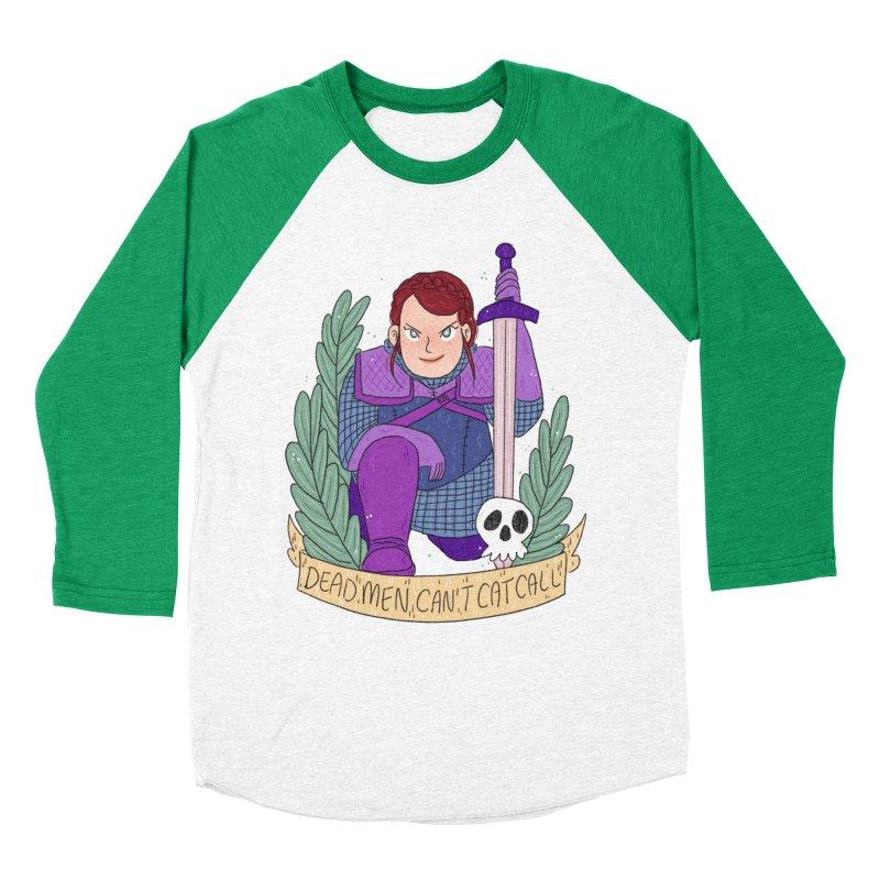 GRL PWR Knights Dead Men Women's Baseball Triblend Longsleeve T-Shirt by ArtbyMoga Apparel Shop
