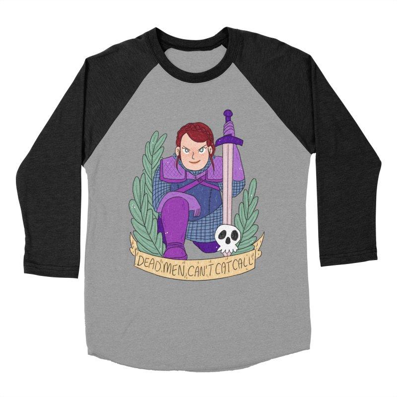 GRL PWR Knights Dead Men Men's Baseball Triblend Longsleeve T-Shirt by ArtbyMoga Apparel Shop