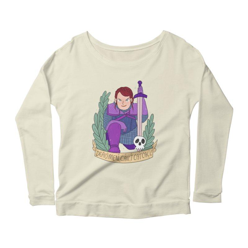 GRL PWR Knights Dead Men Women's Scoop Neck Longsleeve T-Shirt by ArtbyMoga Apparel Shop