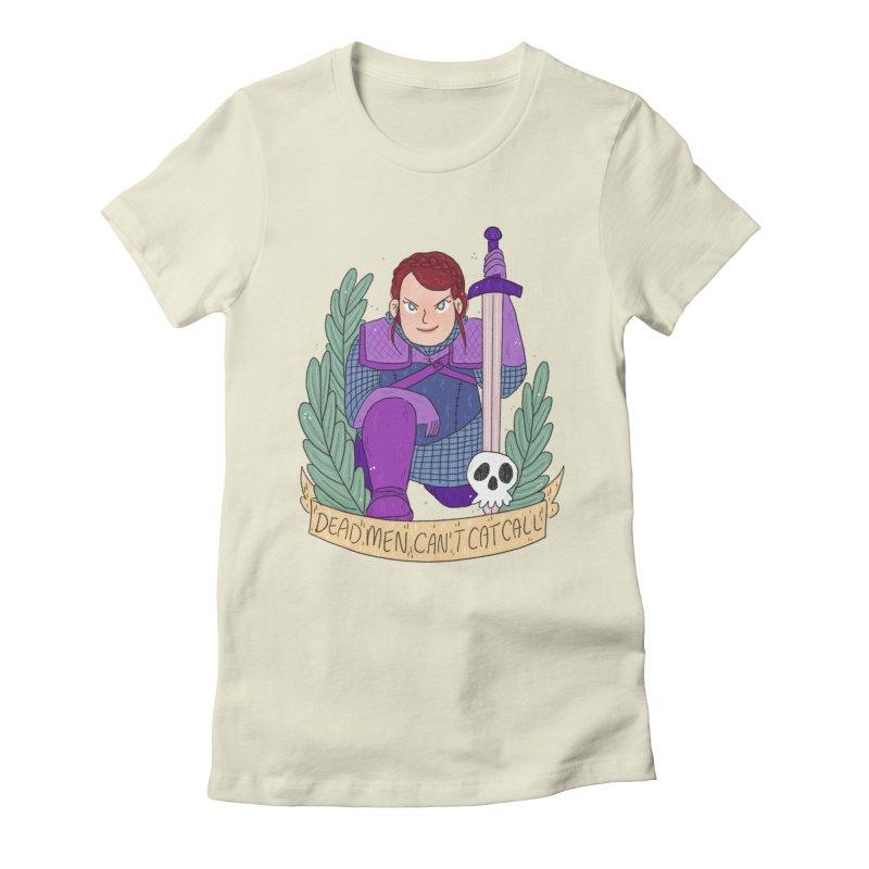 GRL PWR Knights Dead Men Women's Fitted T-Shirt by ArtbyMoga Apparel Shop