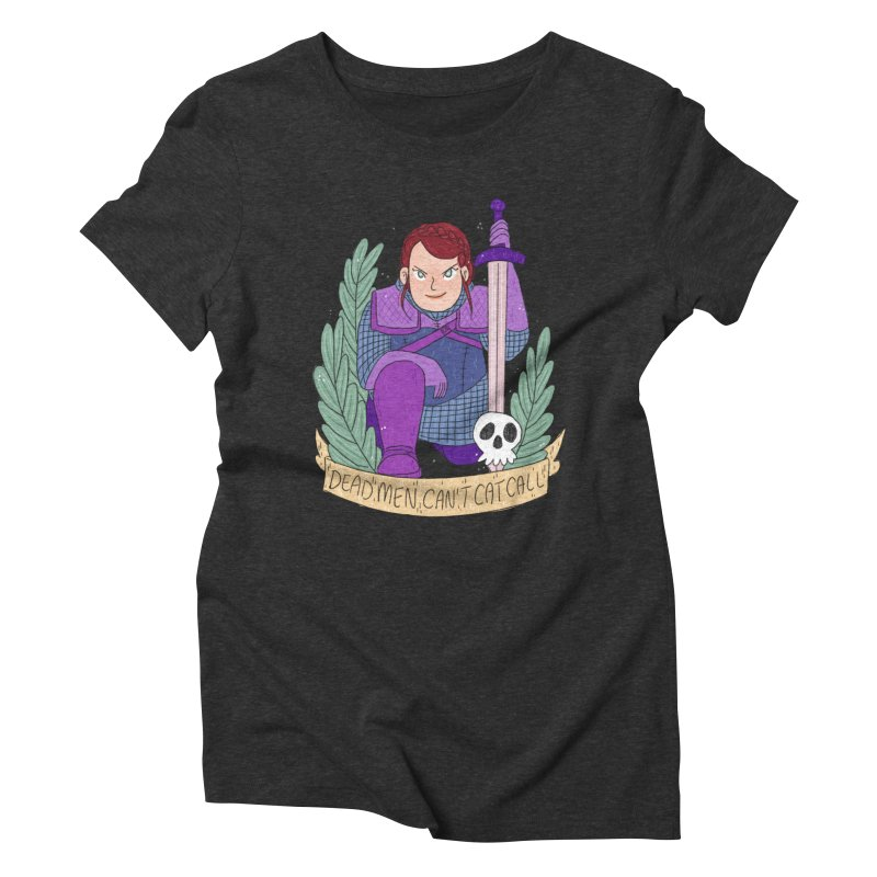 GRL PWR Knights Dead Men Women's Triblend T-Shirt by ArtbyMoga Apparel Shop