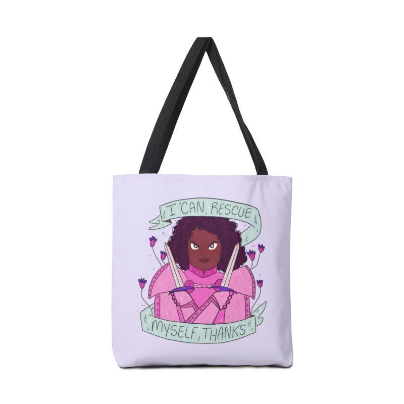 GRL PWR Knights Rescue Myself Accessories Bag by ArtbyMoga Apparel Shop