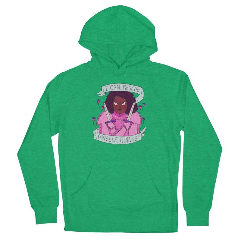 GRL PWR Knights Rescue Myself Men's Pullover Hoody by ArtbyMoga Apparel Shop