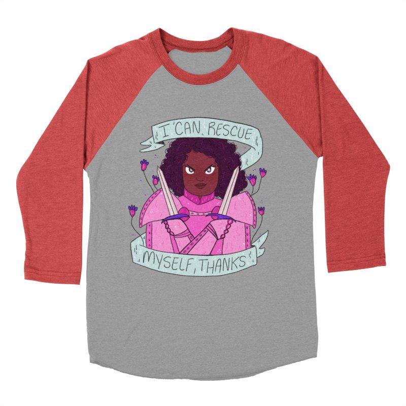 GRL PWR Knights Rescue Myself Men's Longsleeve T-Shirt by ArtbyMoga Apparel Shop