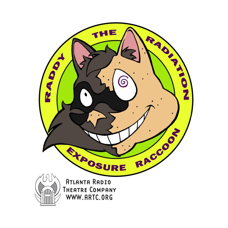 Raddy the Radiation Exposure Raccoon by Woodrow's Mercantile