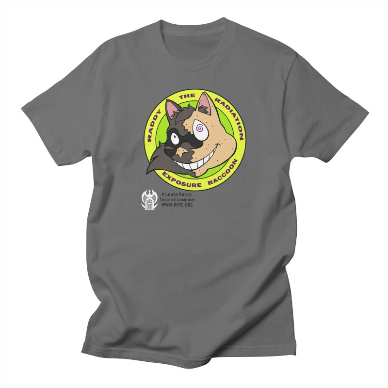 Raddy the Radiation Exposure Raccoon Men's T-Shirt by Woodrow's Mercantile