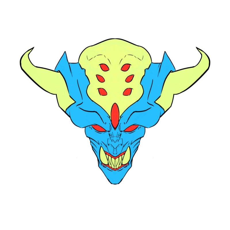 Diablo Blue Men's V-Neck by Artclstudios's Shop