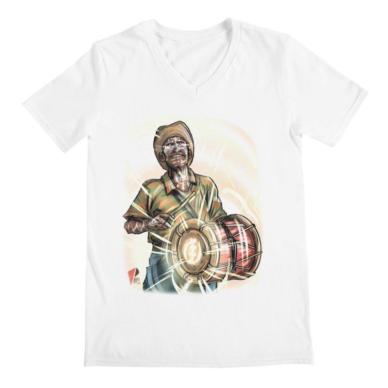 El Tamborero Men's V-Neck by Artclstudios's Shop