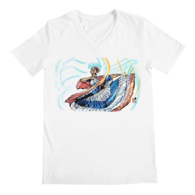 La Bailarina Men's V-Neck by Artclstudios's Shop