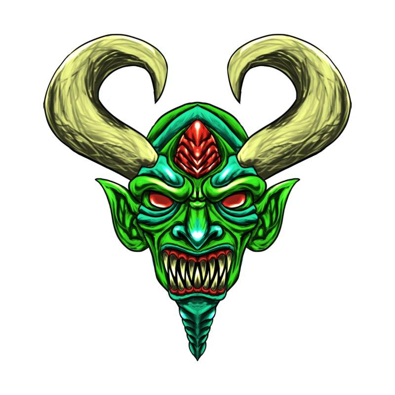 Diablo Verde Men's V-Neck by Artclstudios's Shop
