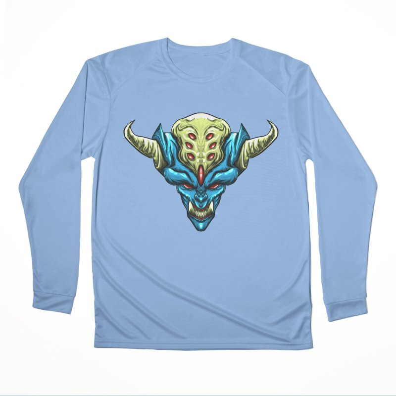 Diablo Azul Men's Longsleeve T-Shirt by Artclstudios's Shop