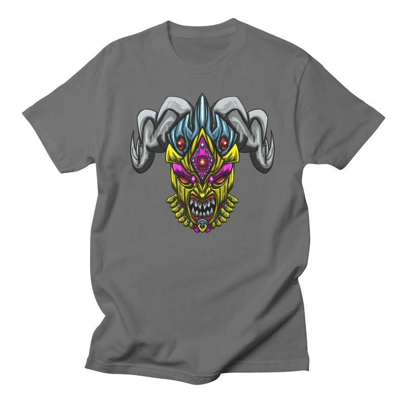 Diablo Amarillo Men's T-Shirt by Artclstudios's Shop