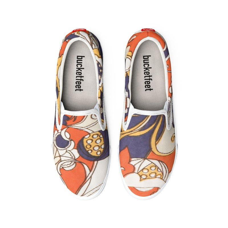 Vintage Orange Women's Shoes by Artdrips's Artist Shop
