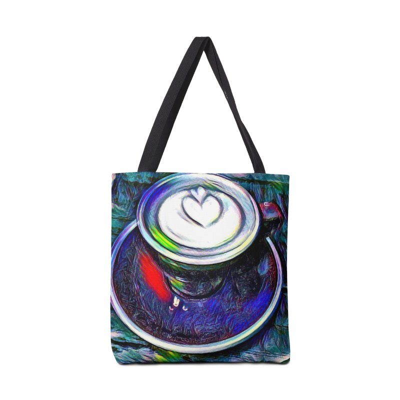 Coffe Cup Midnight Blue Accessories Bag by Artdrips's Artist Shop
