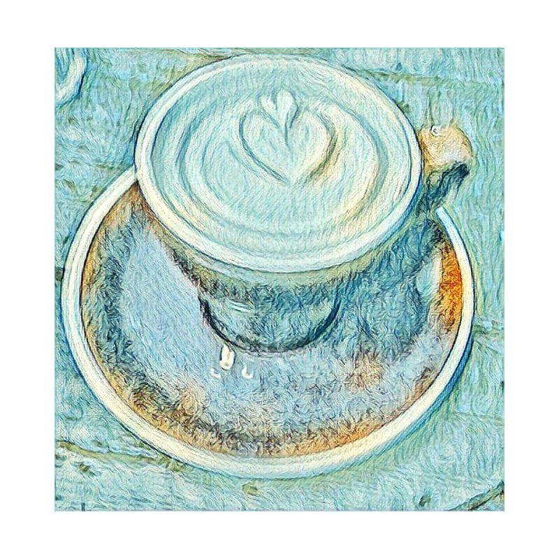 Blue Coffee Cup by Artdrips's Artist Shop