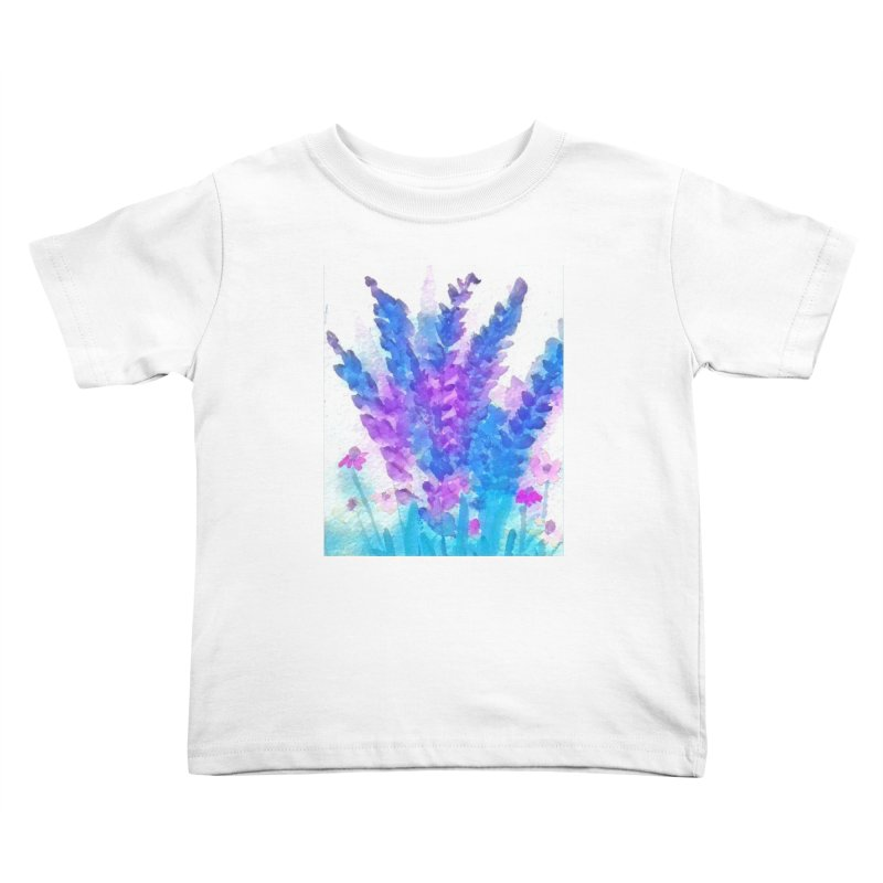 Wild flowers in Mauve Kids Toddler T-Shirt by Artdrips's Artist Shop
