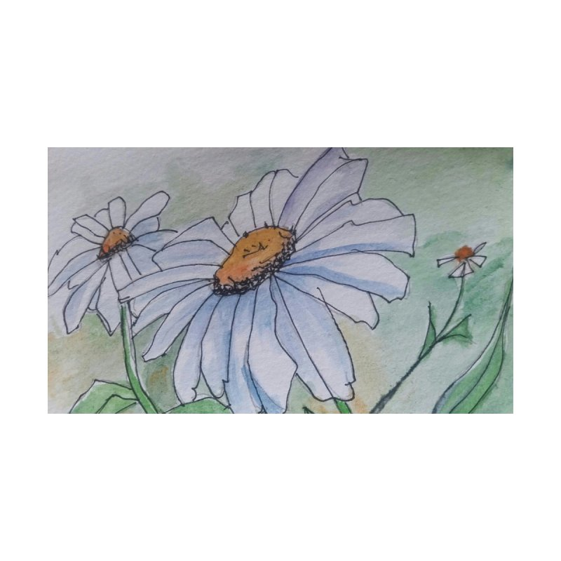 Daisy Home Fine Art Print by Artdrips's Artist Shop