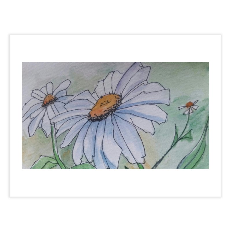 Daisy Home Fine Art Print by Artdrips's Artist Shop