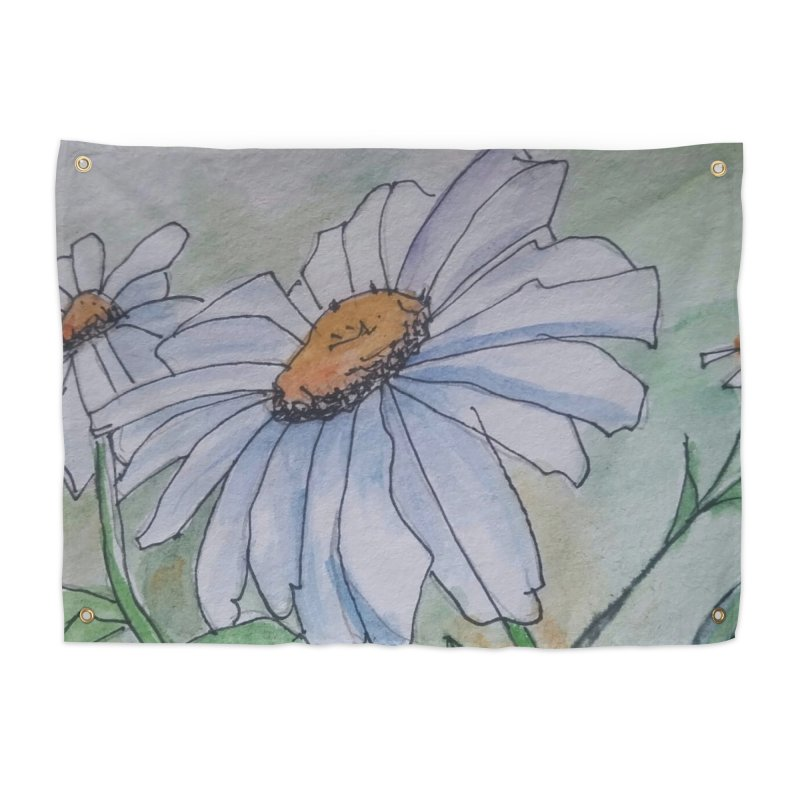 Daisy Home Tapestry by Artdrips's Artist Shop