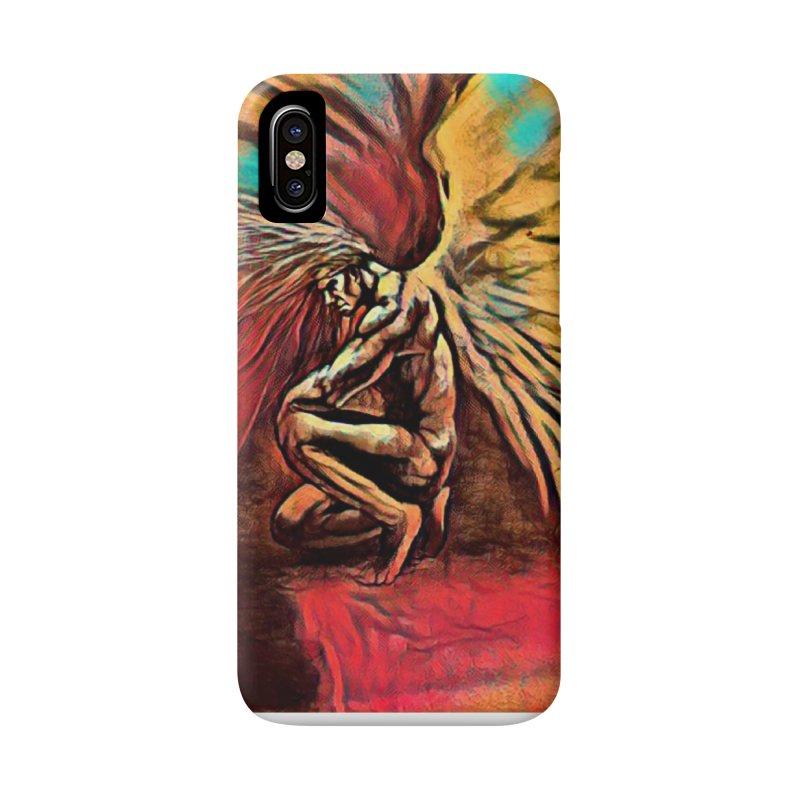 Angel Watcher Accessories Phone Case by Artdrips's Artist Shop