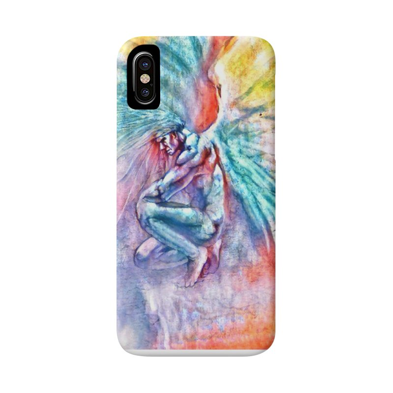 Angel in Colour Accessories Phone Case by Artdrips's Artist Shop