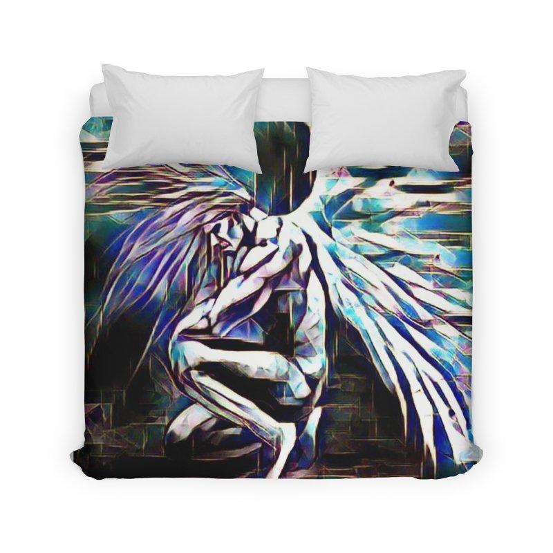 Angel Electric Home Duvet by Artdrips's Artist Shop