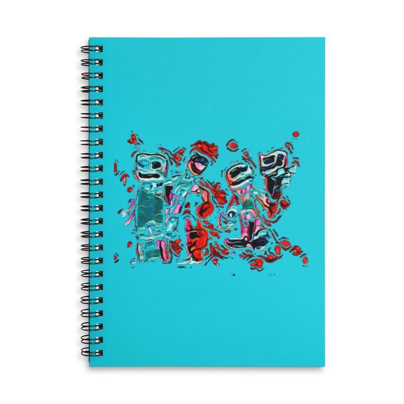 Robot Gang Accessories Notebook by Artdrips's Artist Shop