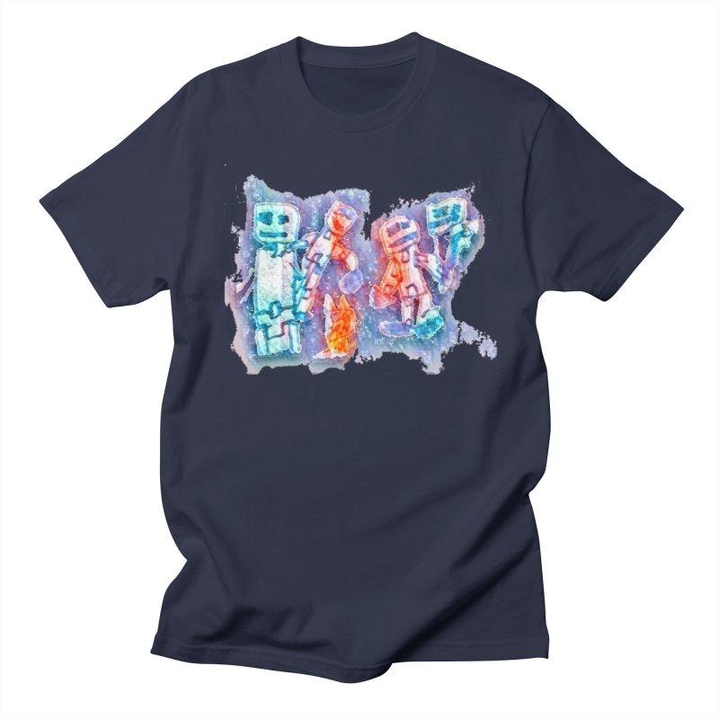 Robot Friends Women's Regular Unisex T-Shirt by Artdrips's Artist Shop