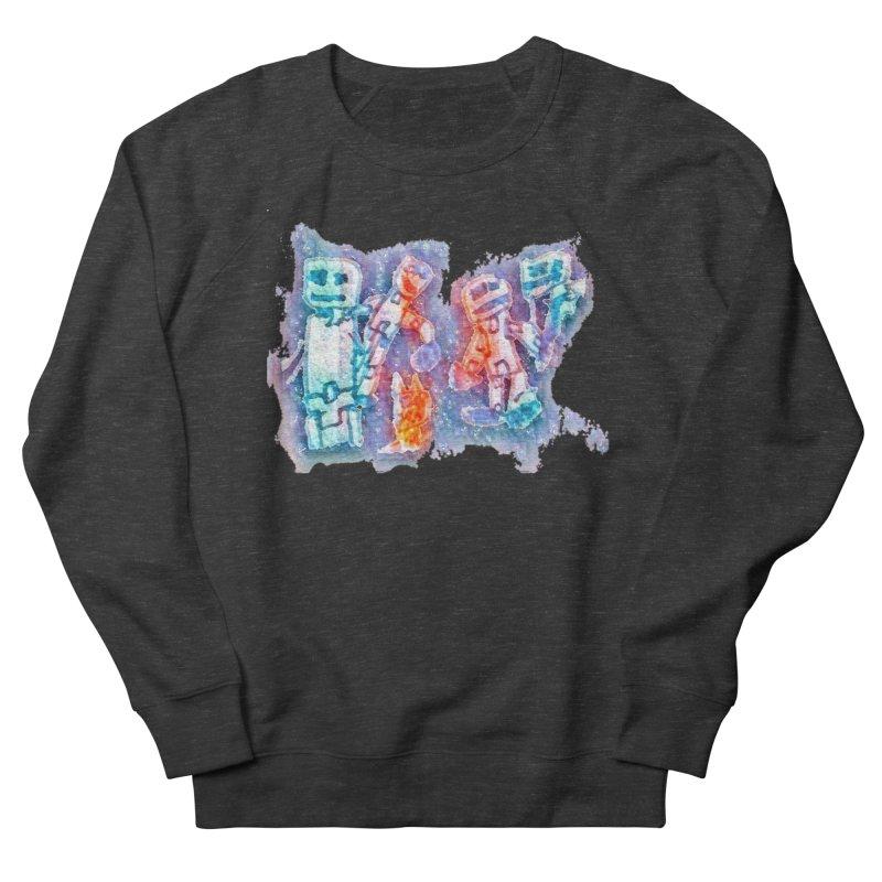 Robot Friends Women's French Terry Sweatshirt by Artdrips's Artist Shop