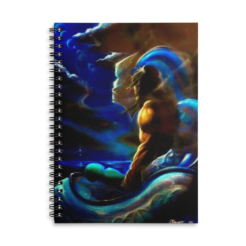 Home Accessories Lined Spiral Notebook by Artdrips's Artist Shop