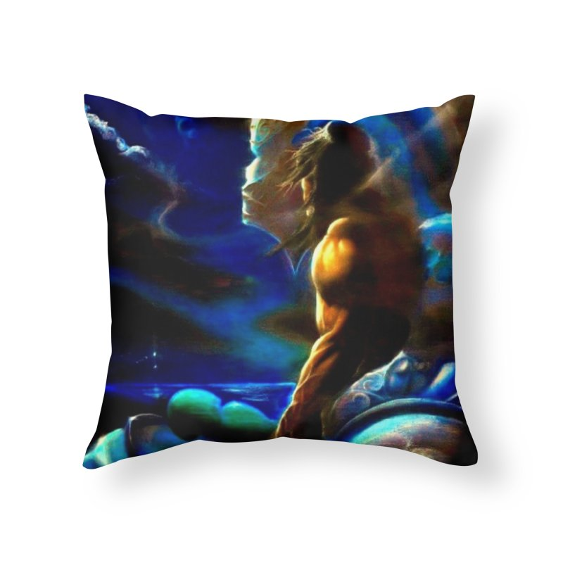 Home Home Throw Pillow by Artdrips's Artist Shop
