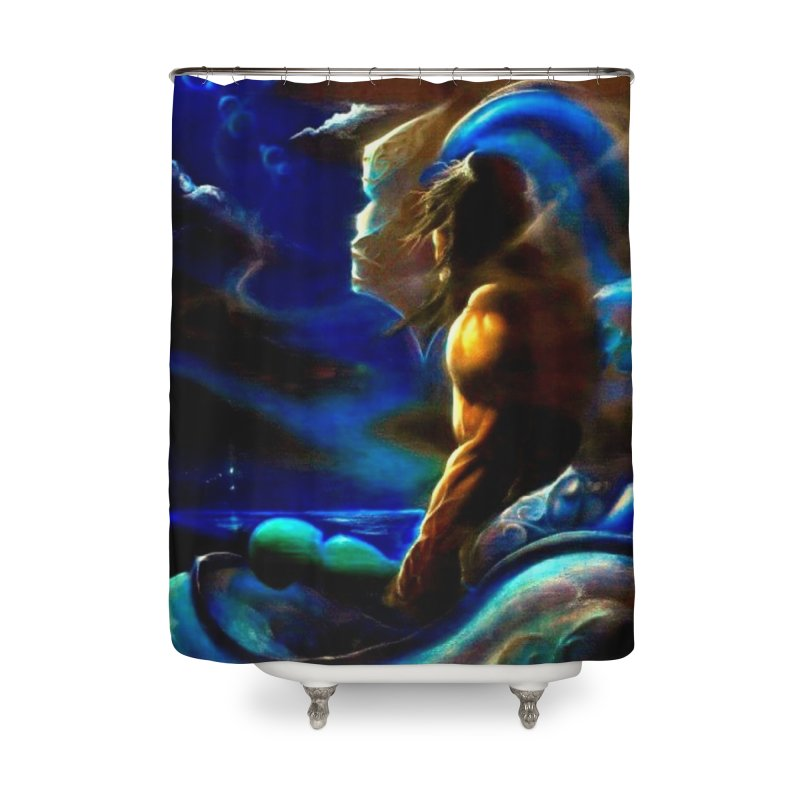 Home Home Shower Curtain by Artdrips's Artist Shop