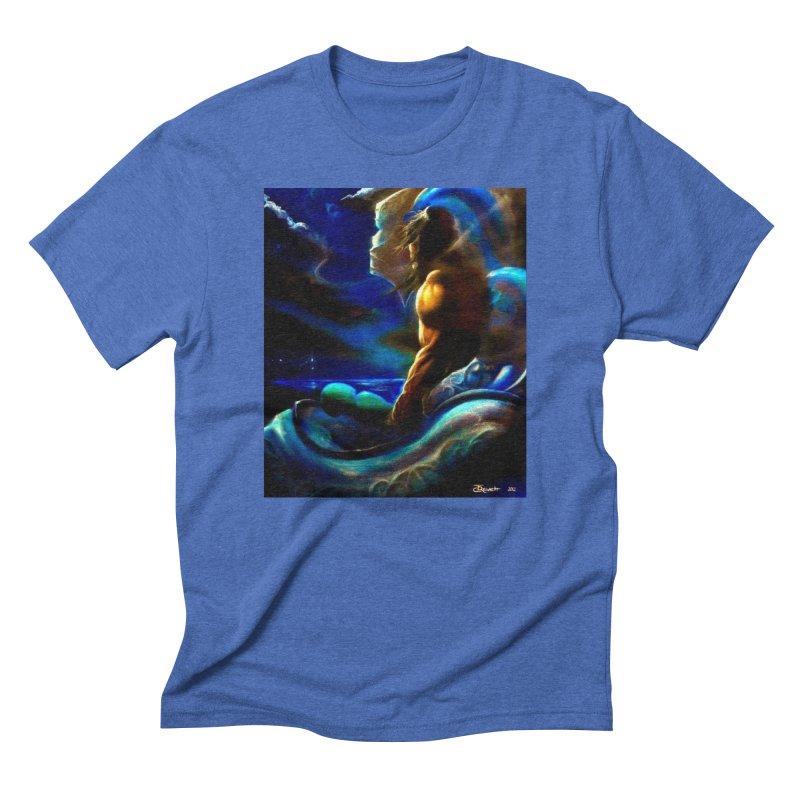 Home Men's Triblend T-Shirt by Artdrips's Artist Shop