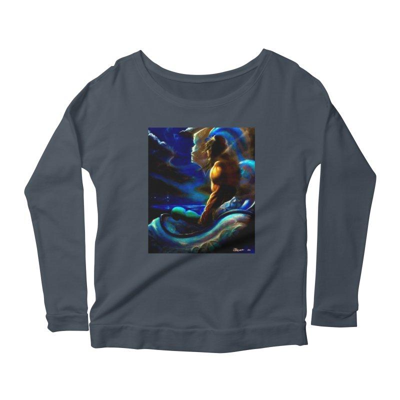 Home Women's Scoop Neck Longsleeve T-Shirt by Artdrips's Artist Shop
