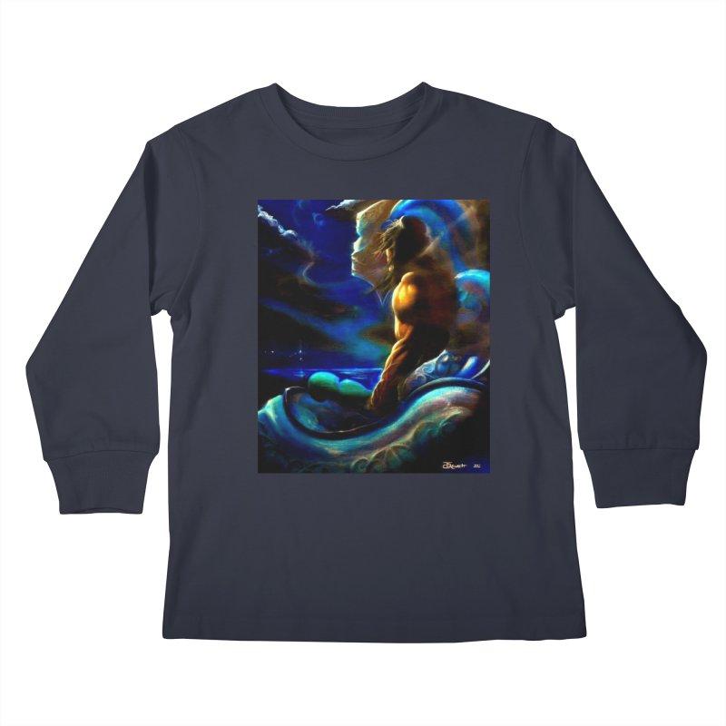 Home Kids Longsleeve T-Shirt by Artdrips's Artist Shop