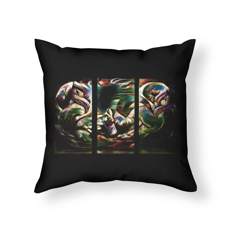 Awhi Rito Home Throw Pillow by Artdrips's Artist Shop