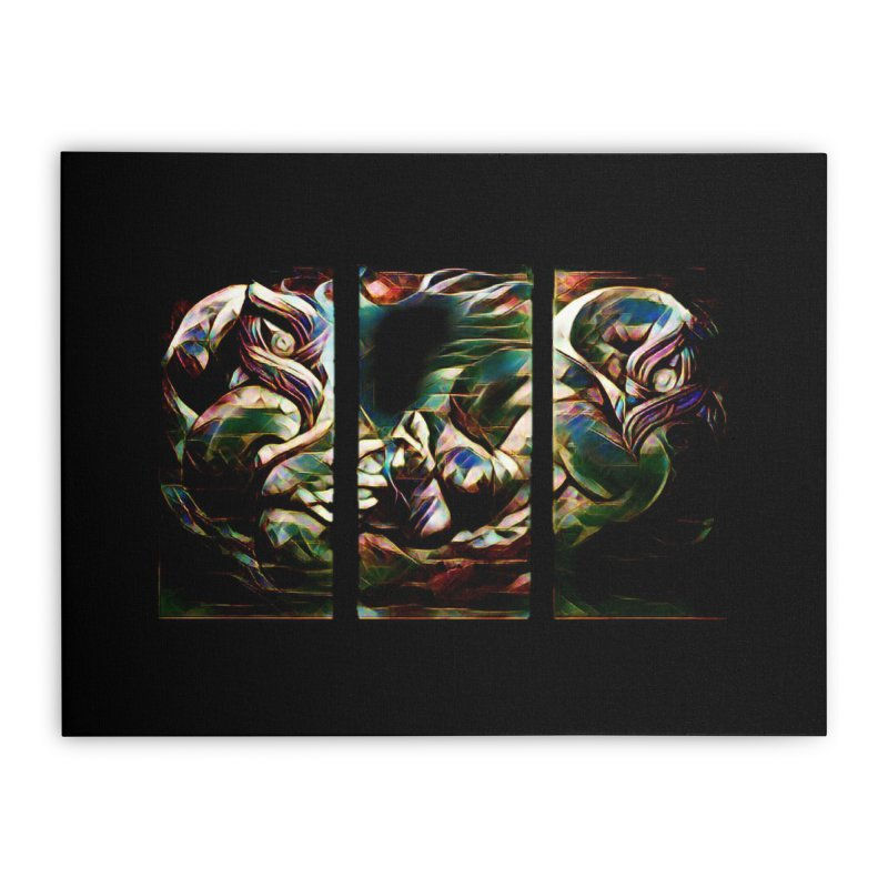 Awhi Rito Home Stretched Canvas by Artdrips's Artist Shop