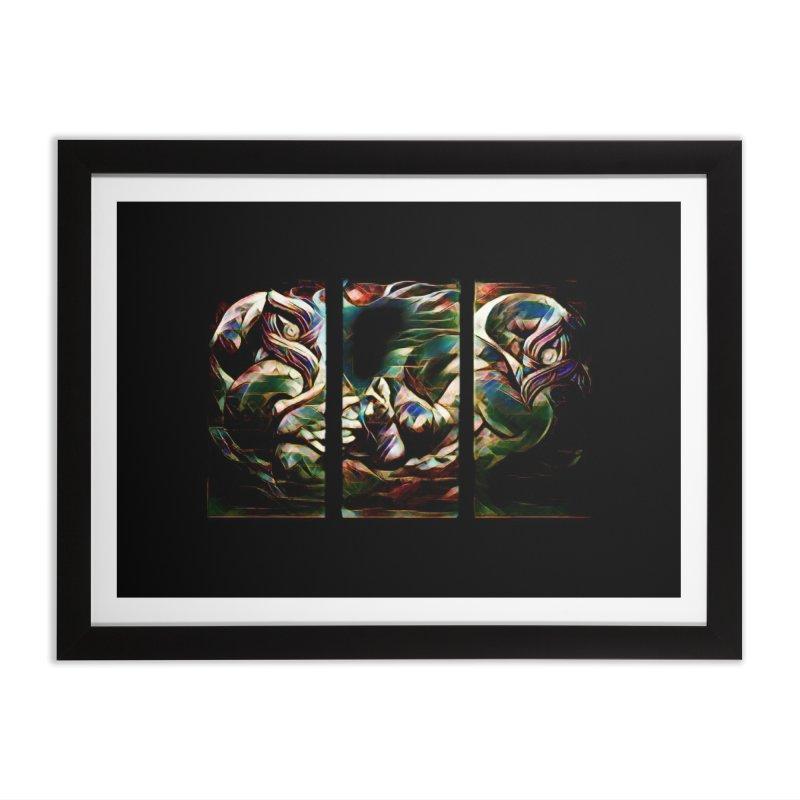 Awhi Rito Home Framed Fine Art Print by Artdrips's Artist Shop