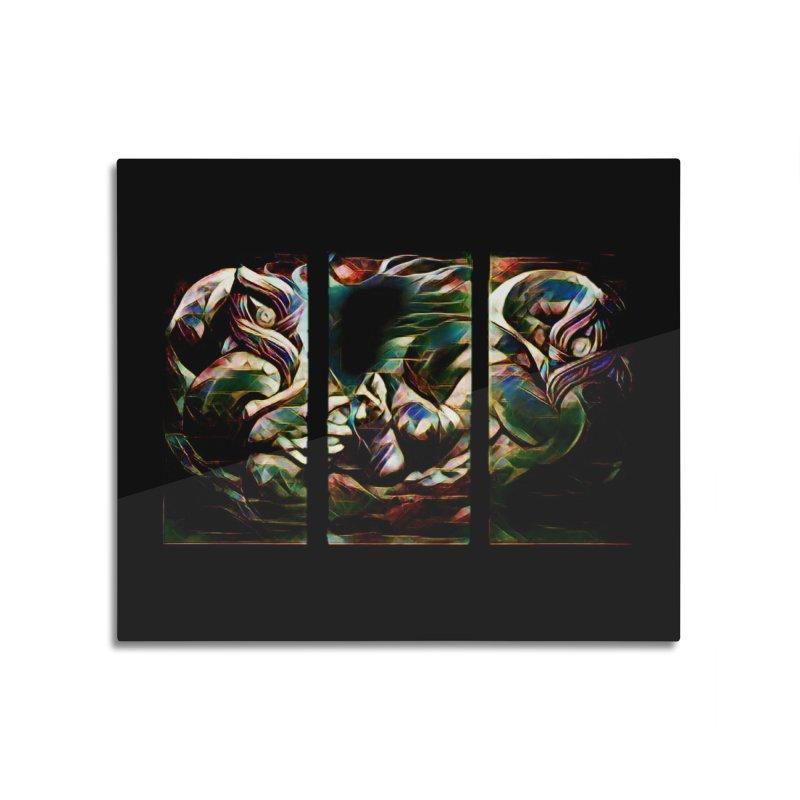 Awhi Rito Home Mounted Acrylic Print by Artdrips's Artist Shop
