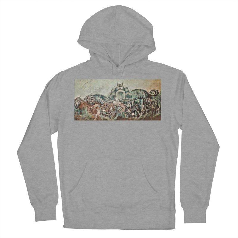 Tu Tangata Women's French Terry Pullover Hoody by Artdrips's Artist Shop