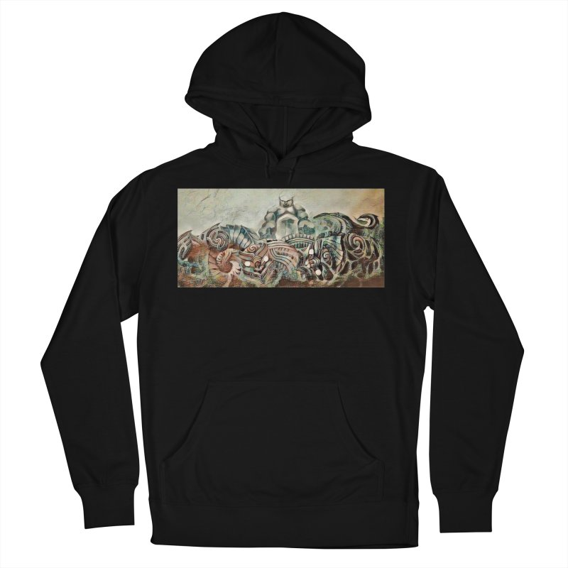 Tu Tangata Men's French Terry Pullover Hoody by Artdrips's Artist Shop